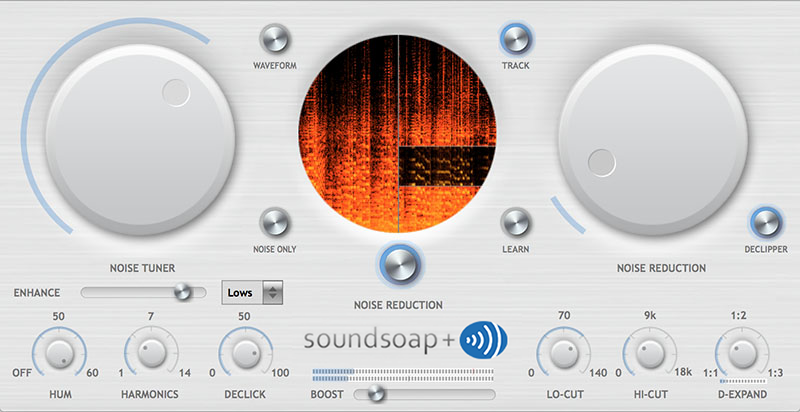 SoundSoap+ adds more Audio Restoration Tools and Features to SoundSoap Image